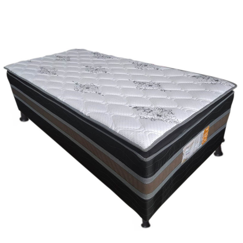 CAMA BOX D28 88X188X50 ALLFLEX SUPER LUXO C/PILLOW