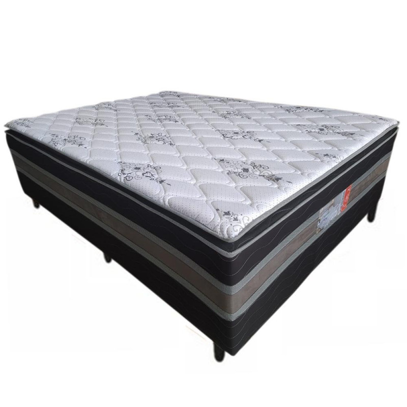 CAMA BOX D28 138X188X50 ALLFLEX SUPER LUXO C/PILLOW