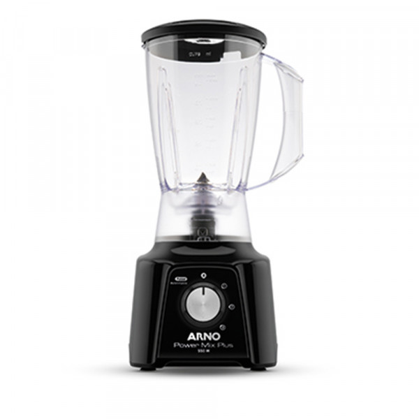 LIQUIDIFICADOR ARNO POWER MIX PLUS LQ20 550W 3 VEL 127V PRETO