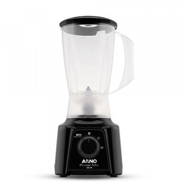 LIQUIDIFICADOR ARNO POWER MIX LQ10 550W 2 VEL 127V PRETO