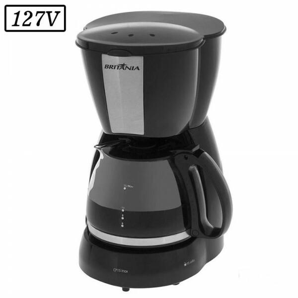 CAFETEIRA BRITANIA CP15 550W 127V INOX