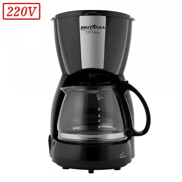 CAFETEIRA BRITANIA CP15 550W 220V INOX