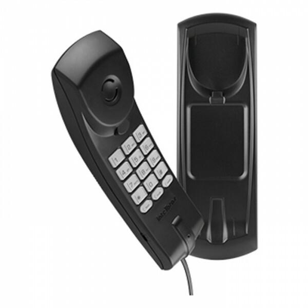 TELEFONE INTELBRAS C/ FIO PLENO PRETO