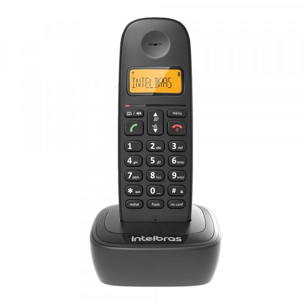 TELEFONE INTELBRAS S/ FIO TS 2510 PRETO