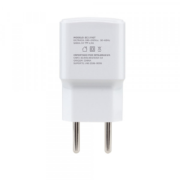 CONVERSOR DIGITAL INTELBRAS AC/DC FONTE USB - EC 1 FAST