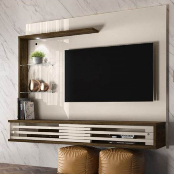 PAINEL BANCADA SUSPENSA MADETEC FRIZZ SELECT OFF WHITE / SAVANA