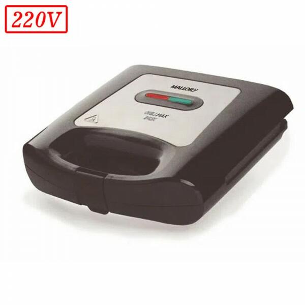SANDUICHEIRA MALLORY GRILLMAX INOX 750W 220V PRETA