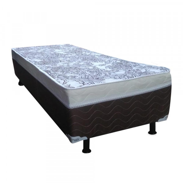 CAMA BOX D28 78X188X40 MERON SOFT BOX SAFIRA PLUS