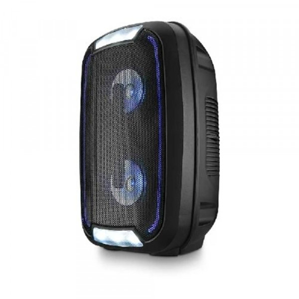 CAIXA DE SOM MULTILASER PARTY SPEAKER NEON SP336 DOUBLE 4'' 200 WATS