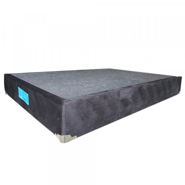 BASE BOX 138X188X25 PLUMATEX DELUXE LIS PREMIUM BLACK