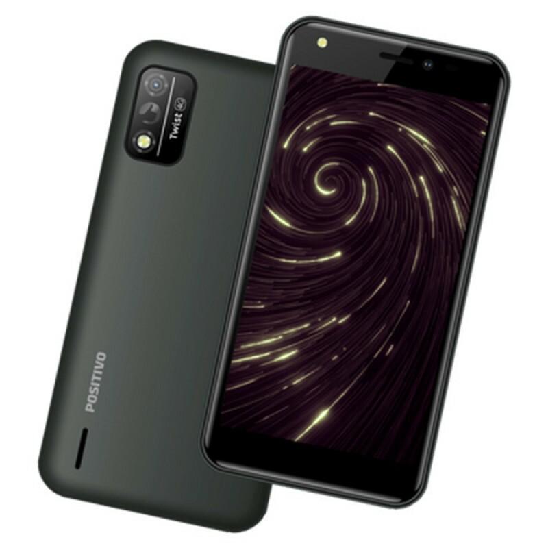 SMARTPHONE POSITIVO TWIST 4G S509 32GB OCTA-CORE 1GB RAM TELA 5'' CAM. 8MP + SELFIE 5MP CINZA